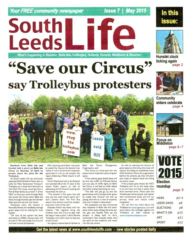 South Leeds Life Cover May 2015